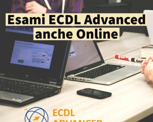 Esami ECDL Advanced Online