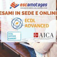 Esami ECDL Advanced